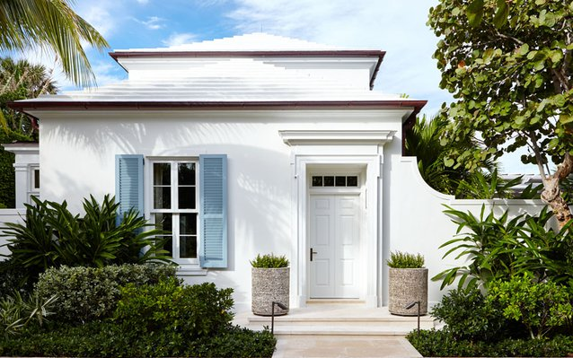 A New Anglo-Caribbean House in Palm Beach